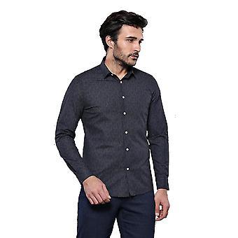 Black patterned shirt   wessi