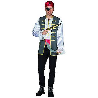 Pirat Hank Mens Pirate Sailor Kostium Karnawał