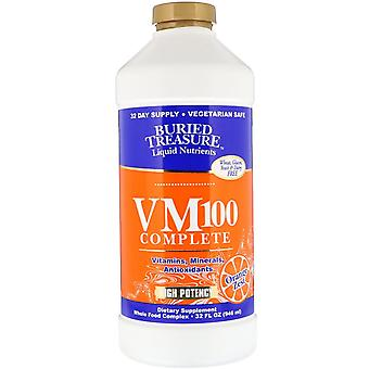 Buried Treasure, Liquid Nutrients, VM100 Complete, Orange Zest, 32 fl oz (946 ml