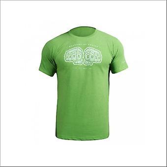 Hayabusa weapons of choice t-shirt - green - size small