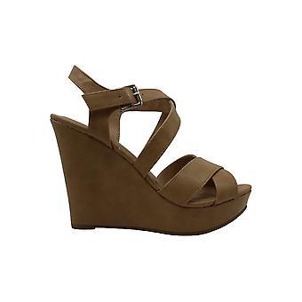 American Rag Womens Rachey1 Fabric Open Toe Casual Platform Sandals