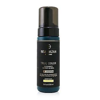 Rita Hazan True Color Ultimate Shine Gloss - # Blonde Gloss (For Golden Blondes & Highlights) 150ml/5oz