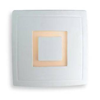 1 Light Indoor Wall Light - 100W Unglazed, Acid White Glass, E27