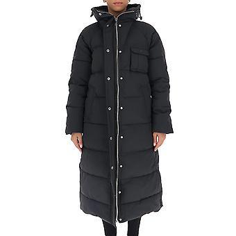 Ganni F5330252 Femme-apos;s Black Nylon Down Jacket