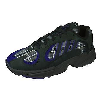 adidas Originals Yung 1 Mens Trainers / Shoes - Black