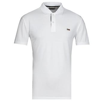 Napapijri Taly Briljant Wit Polo Shirt