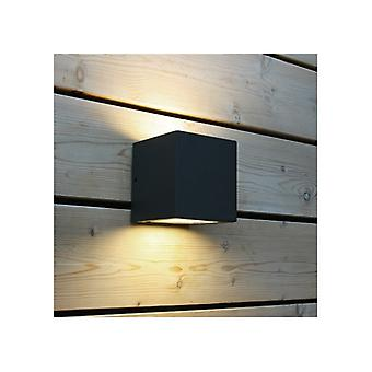 Lampada a parete quadrata Kubbetto