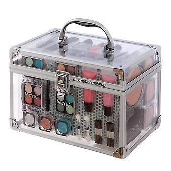 Technic Essentials Clear Carry Case Make-up Set Travel Ideal Gift
