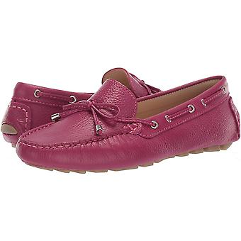 Driver Club USA Women's Shoes Nantucket Leather Round Toe Loafers