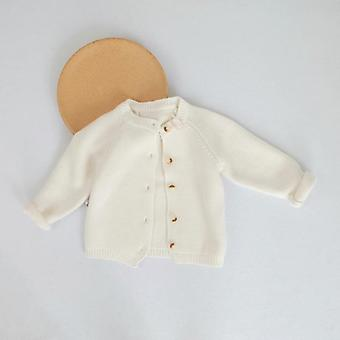 Baby Boys Coat Sweater Cardigans, Newborn Knitwear Cardigan Manga comprida