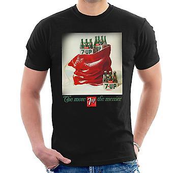 7up Christmas Sack Poster Design Men's T-Shirt