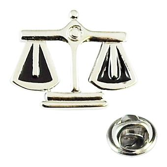 Solmiot Planet Scales Of Justice Lakimies Lapel Pin Badge