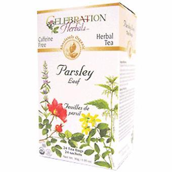 Celebration Herbals Organic Parsley Leaf Tea, 24 Bags