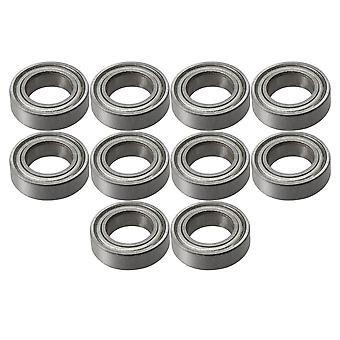 10 x Groove Miniature Micro Ball Bearing Bearing Steel MR148ZZ 8x14x4mm