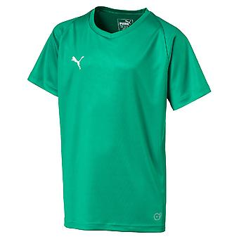 PUMA League Jersey core junior short sleeve
