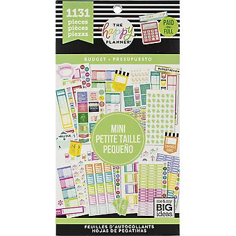 Gelukkig planner sticker Value Pack-mini begroting, 1131/pkg