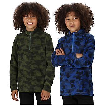 Regatta Boys Lovely Jubblie Half Zip Fleece