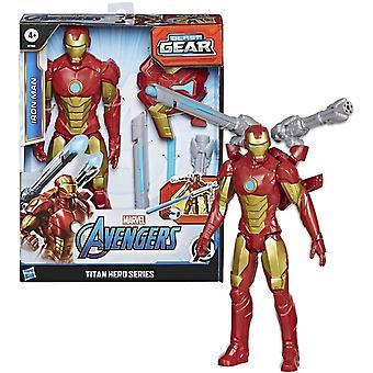 Avengers Titan Hero Series Blast Gear Iron Man Figurka dla dzieci Toy