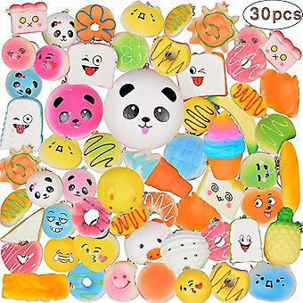 30 Pcs Squishy Slow Rising Lovely