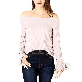 1.State | Off-The-Shoulder Tie-Sleeve Top