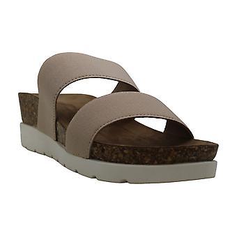 Madden tyttö naisten Nikkii kangas avoin toe kävely Slide sandaalit