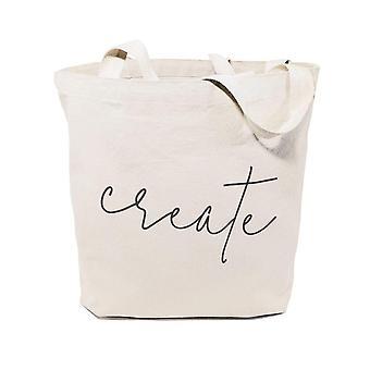 Create-cotton Canvas Tote Bag