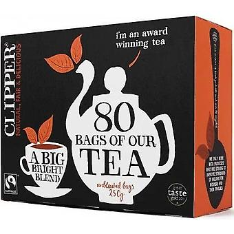 Clipper Fairtrade Everyday Teabags (ORANGE) 80's x6