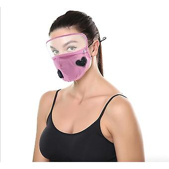 Eye Protection Mask With Drill To Keep Warm, Removable Valve With Insertable Filter