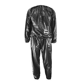 Heavy Duty Fitness Weight Loss Sweat Sauna Suit, Exercise Gym Anti-rip