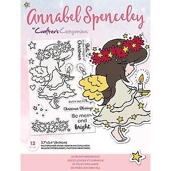 Crafter's Begleiter Annabel Spenceley seien fröhlich und helle Briefmarken