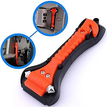Mini Car Safety Hammer Life Saving Escape Emergency Seat Belts Cutter Window