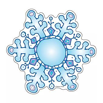 Snowflakes Dj Inkers Cut-Outs, 36 Pieces