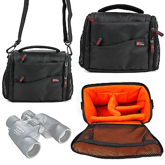 Duragadget large padded double-zip holdal case with adjustable shoulder strap - compatible with olym