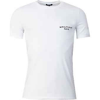 Balmain Shadow Chest Logo T-Shirt