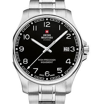 Reloj masculino militar suizo por Chrono SM30200.16, cuarzo, 39 mm, 5ATM