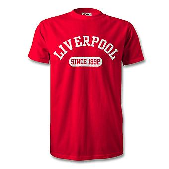 Liverpool 1892 Established Football T-Shirt