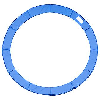 HOMCOM 12ft Trampoline Pad Surround Pad Thick Foam Pads Padding Replacement Spare- Blue