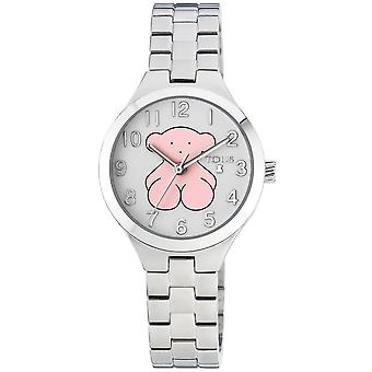Tous watches muffin watch for Analog Quartz Child with stainless steel bracelet 700350040