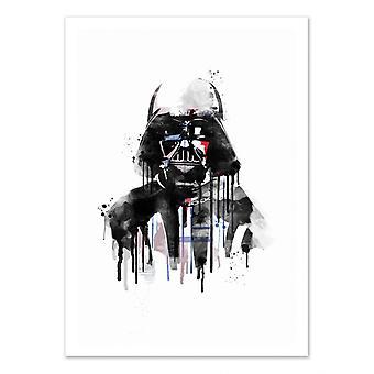 Art-Poster - Vader Aquarel - 2Toast Design