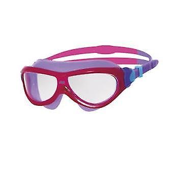 זוגס פנטום מסכת שחייה ג'וניור 6-14yrs-עדשה ברורה-מסגרת ורוד/סגול