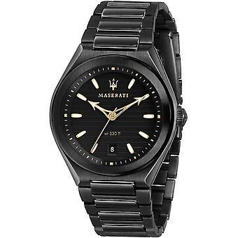 Mens Horloge Maserati R8853139004, Quartz, 40mm, 10ATM
