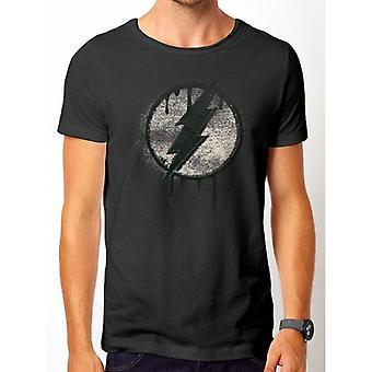 Flash Unisex Adults Spray Logo Premium T-Shirt