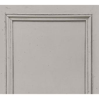 ASC Grey Wood Panel Wallpaper