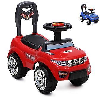Pantofola, auto per bambini Tiger Range con musica, luce, corno, vano portaoggetti nel sedile