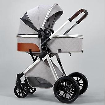 Baby Stroller, Baby Carriage Foldable Stroller-bassinet Pushchair Newborn