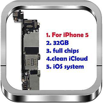 Original entsperrt für Iphone 6 s 7 8 Plus 4 s 5 5 s Motherboard 7 8 6 Plus Logic