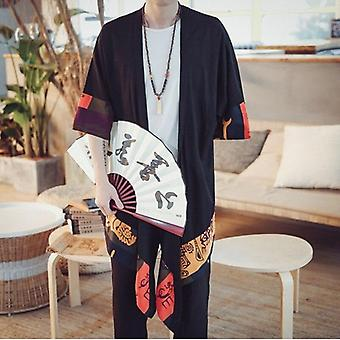 Japanese Kimono Cardigan Male Samurai Clothing / Jacket / Shirt