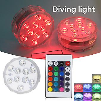 Led Lights For Aquarium Waterproof 16 Different Color Remote Control Light Home