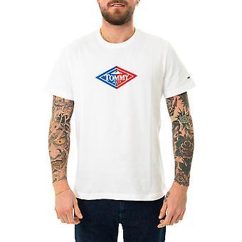 T-shirt homme tommy jeans tjm rétro tommy tee dm0dm09391.ybr
