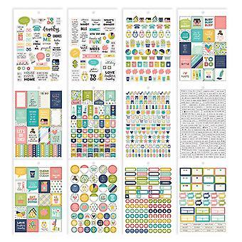 Simple Stories - Carpe Diem - Home - Home Sticker Tablet